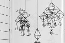 Mobiles / Hanging art