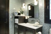 Bathroom Lighting / Beautiful Bathroom Lighting by Hubbardton Forge. Hand-crafted Fine American made Lighting.