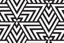 Interior / Heating Inspiration - Geometric Patterns / Geometric pattern inspiration for your Funkyheat heater. We can produce your heater with any bespoke image, allowing you to customise your heater to compliment any interior space.