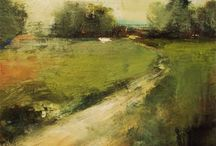 Rural Landscapes / Rural landscape paintings and drawings