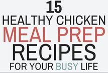 Chicken meal prep for healthy eating ❤️