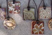 pendants / Clay items