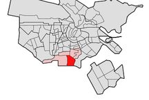 Buitenveldert Oost / Buitenveldert is in 1935 als onderdeel van het Algemeen Uitbreidingsplan (A.U.P.) net als de Westelijke Tuinsteden bedacht aan de zuidkant van Amsterdam. Het gebied is aan de noordzijde begrensd door de A10 en aan de zuidzijde ligt de grens aan de Kalfjeslaan en daar begint Amstelveen.