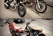 CafeRacers, Supermotos and funny bikes