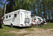 Weekend w Ślesinie / Kolejny campingowy weekend! Tym razem ekipa CarGO! wykorzystała słoneczną pogodę nad jeziorem ślesińskim.Oprócz kamperów - łódź motorowa:)