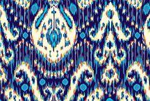 Patterns: Ikat