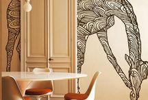 CW - fresque murale