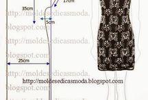 modelli vestiti e maglie