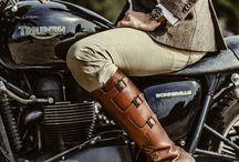 Vintage / Retro motorcycles fashion