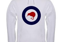 Air Force Roundels -  History T-shirts & Gifts / Air Force Roundels from the Past - clothing and gift designs at Yesteeyear.com.  #History #Tshirts #Clothing
