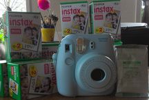 Take a picture everyday for a year - Challenge / Since I like photography as a hobby I've challenged myself to take a picture everyday for a year long! I've decided to use my instax mini 8 camera for it, because when making digital pictures it allows you to delete the ones you don't like. I wanted to do something with a pure and final result!! I will upload a photo here everyday, may it be something out of my daily/personal life as well of creative outings and my other hobbies.