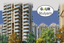 Gaur Atulyam / Gaur Atulyam is located in Greater Noida offers 2 BHK, 3 BHK and 4 BHK spacious flats with latest amenities.