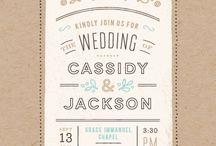 Wonderful Wedding Stationery / Wedding stationery and papergoods