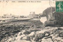 Lesconil autrefois / Cartes postales anciennes de l'Hôtel du Port et de Lesconil