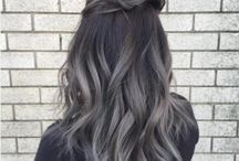Color Gombre - Grey Ombre - Grey & Silver Hair color