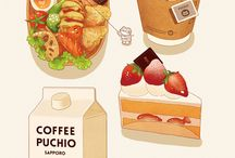 Foood illustrations
