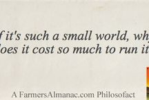 Philosofacts / by Farmers' Almanac