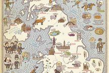 Leuke landen atlas