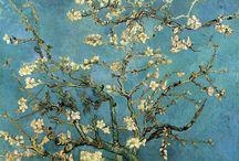 Le bleu, dans la Peinture d'art
