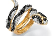 Black Diamond Snake / Black diamond snake jewelry