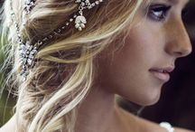 Wedding Hair and Headbands/veils