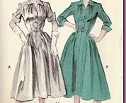 1950's Sewing Patterns: Butterick