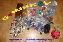 My buttons - Gombíkovo / moja gombíková tvorba-my buttonhole creativity