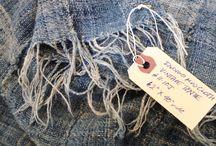 African Indigo Shibori & Mud Cloth / Everything made from Indigo Mud Cloth, Vintage or new shibori fabrics, indigo tie dye, African mud cloth
