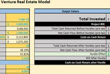 Real Estate / Financial Model Examples and Excel spreadsheet templates for real estate professionals, developers and investors