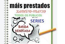 Máis prestados BDteca TODOS OS PÚBLICOS: SERIES- INVERNO 2015 / Os máis prestados da BDteca -TODOS OS PÚBLICOS: SERIES- na Biblioteca Ánxel Casal. XANEIRO-MARZO 2015