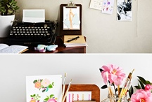 A writer desk must be a special place