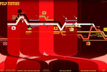 Infographic Timelines / A collection of info graphic timelines of movies found on the web