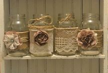 Flower Rustic Decoration