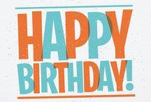 Happy Birthday! / Yay Birthdays!