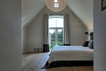 Bedroom attic / Fabulous design for the attic