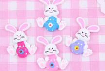Easter cabochons