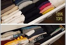 Organize/Helpful Hints: Bedroom