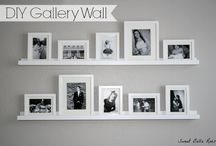 Photo Wall in Family Space / by Jessi Fluke