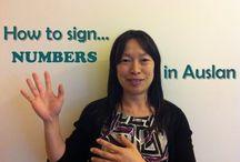 Auslan ~ Australian Sign Language