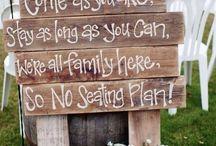 Casamento Recados Fofos