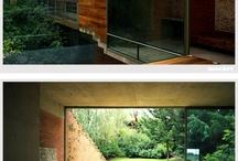 Concrete + Brick / Architectural details in concrete and brick
