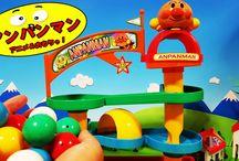 アンパンマン アニメ❤おもちゃ コロコロ ビーズもコロリン Anpanman toys