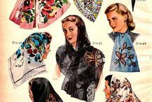 Vintage Scarf Styles