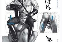 Tom of Finland / Gay Pride has arrived! Get in the spirit with Tom of Finland's gay culture-fueled designs.