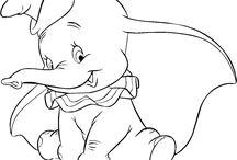 Dumbo: Disegni da Colorare