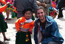Cusco, Peru / Volunteer from Cusco visiting Puno
