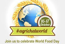 World Food Day #WFD13 / World Food Day will be celebrated on Wed., Oct. 16th. To commemorate the occasion @AgriChatUK, @EUFoodChat @AgChat, @AgChatOZ, @AgChatNZ and @AgriChatNL have united to build a place which represents farmers and ranchers from all across the world. / by AgChat Foundation