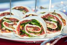 Wraps / Carpaccio wraprolletjes