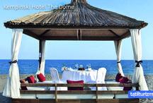 Kempinski Hotel The Dome / Kempinski Hotel The Dome ile ayrıcalıklı hizmet ve lüks Antalya'nın muhteşem doğasında sizlerle buluşuyor.