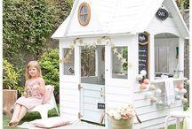 Outdoor dollhouse